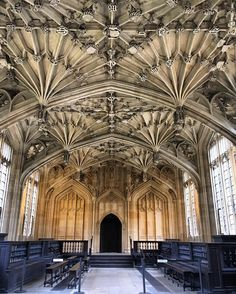 Every library-chic's dream. Bodleian library by @smallhands • 22 likes #oxford