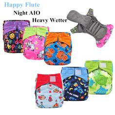 Find More Baby Nappies Information about Happy Flute Night AIO Cloth Diaper Heavy Wetter Cloth Diaper Nappy, Breathable Bamboo Charcoal Double Gussets Inner, PUL Outer,High Quality diaper bags for cloth diapers,China diapering Suppliers, Cheap diaper bag animal print from UStyle 737084 on Aliexpress.com