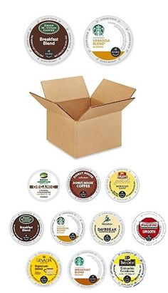 30 Pack - Variety Light Roast Coffee k Cups For Keurig K-Cup Brewers and 2.0 Brewers (10 Brands, 3 K Cup Each)