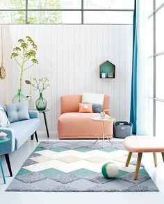 DIY rug from vtwonen