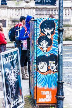 The Beatles - Street art In Dublin