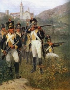 Napoleon's Polish allies: Vistula Legion infantry