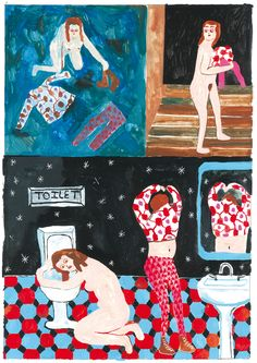 Excerpt from mini kuš! #39 'Unwell' by Tara Booth. Coming out soon!