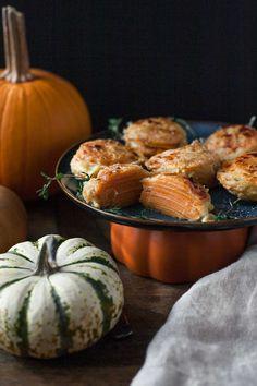 Mini Sweet Potato Gratins (Gluten free)