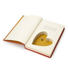 When it comes to books, sometimes what's in the pages can surprise you. Stash a little treasure in the Heart Book Box to let your partner in on the secret.