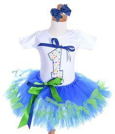 Fancy September Birthday Girls Tutu Outfit