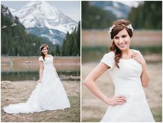 modest wedding gown