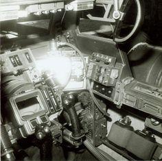 ESB Snowspeeder cockpit