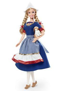 Holland Barbie Doll - Dolls of the World - Europe Collectible Doll | Barbie Collector