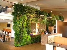 Restaurant Al'Patatrie, Amiens | Vertical Garden Patrick Blanc