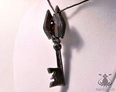 Twilight Princess Boss Key Pendant Legend of Zelda by NappinKraken, $25.00