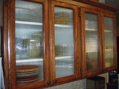 Decorative Cabinet Glass - Waterfall