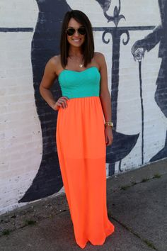 Life in Neon Maxi, $39.99, The Rage