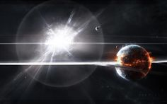 Desktop Background - explosion