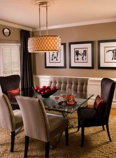 contemporary dining room 17