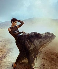 vogue / rihanna by annie leibovitz