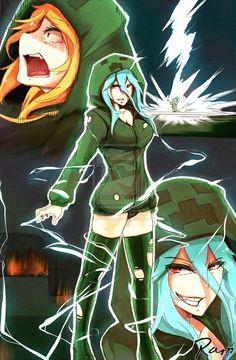 minecraft anime