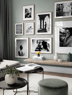 Decorate your living room with a trendy gallery wall! Find inspiration on how to decorate your living room in our Inspiration section. Upgrade your living room today with Desenio. Room Design, Gallery Wall Living Room, Home Decor, House Interior, Apartment Decor, Living Room Pictures, Bedroom Decor, Interior Design Living Room, Decorate Your Room