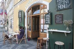 Vino del Vino- Cozy wine bar in Malostranka with very nice service, nice wines and no smoking! This is one of the no smoking bars in Prague so if your touring feet and lungs need a break, this is a good bet.