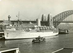 SS Iberia in Sydney Harbour