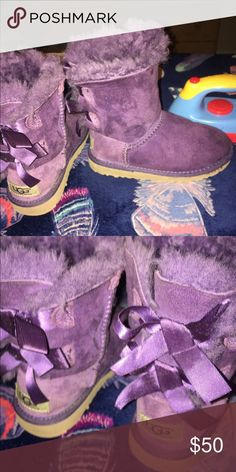 Kids Purple Uggs The uggs are 11c UGG Shoes Boots