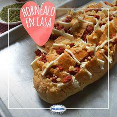 Una receta que te enamorará y es muy fácil de preparar: Pan al horno Philadelphia.