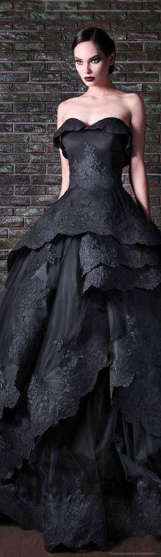 awesome Rami Kadi Fall 2014 Collection - The Wedding Notebook magazine by http://www.polyvorebydana.us/gothic-fashion/rami-kadi-fall-2014-collection-the-wedding-notebook-magazine-2/