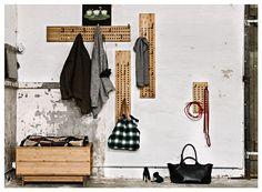 #Garderobe von We Do Wood über www.stilherz.de #scoreboard #bambus #holz