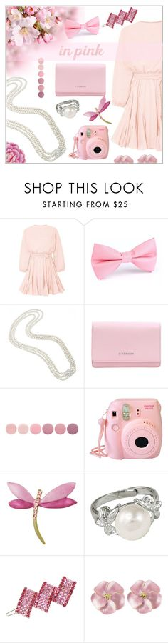 """""""In Pink"""" by eternal-collection ❤ liked on Polyvore featuring Givenchy, Deborah Lippmann, Fujifilm, Perlina and Ballard Designs"""