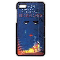 The Great Gatsby Book Art TATUM-10749 Blackberry Phonecase Cover For Blackberry Q10, Blackberry Z10