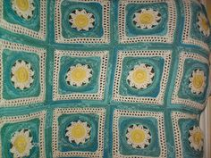 "blooming lace 12"" square free ravelry pattern"