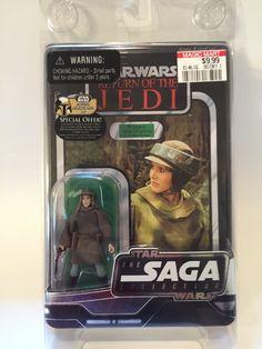 Star Wars Vintage Style Saga Collection Princess Leia Organa Combat Poncho MOSC   eBay