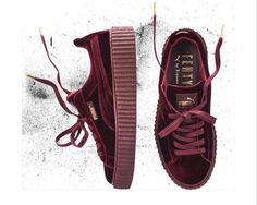 Burgundy Puma Shoes