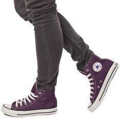 Women's Purple Converse All Star Hi Top at schuh