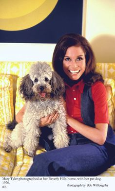 Love Mary Tyler Moore...and Love the yellow couch she's sitting on!!!