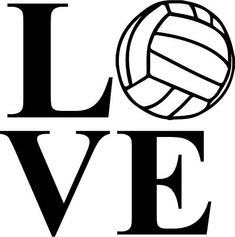Love Volleyball Cliparts 1 - 496 X 500 | carwad.net Volleyball Clipart, Volleyball Images, Volleyball Quotes, Volleyball Motivation, Volleyball Workouts, Volleyball Shirts, Softball Gifts, Cheerleading Gifts, Basketball Gifts