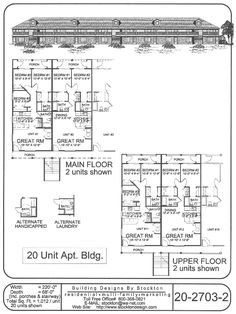 Building Designs by Stockton: Plan # 20-2703-2