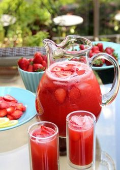 Strawberry Juice Recipe For 3 cups Fresh Strawberries - 1 cup (chopped ) Lemon juice - 2 tea sp Sugar - 1 tbsp (or as you taste) Cold water - Half cup Ice cubes - 4 to 5