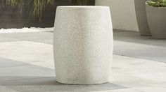 Mesa Side Table-Stool | Crate and Barrel