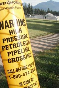 Would you feel comfortable sending your child to a school built on top of a pipeline?