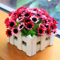DIY artificial flowers