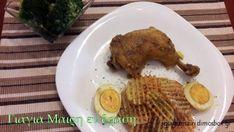 Κοτόπουλο με αυγά και κάρυ |