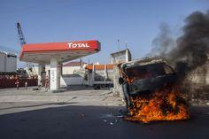 Haïti : Violente manifestation de l'opposition, des biens privés incendiés