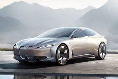 The BMW i4 sedan...