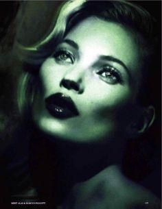 Kate Moss Vogue UK July 2012