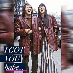 I got you #babe /// #Happy #valentines day #lovers.  Featuring another #powercouple for our #valentinesday #lovefest -   ***Follow me on INSTAGRAM***  #sonny and #cher,  #70s #vibes - such a #great #couple from the #goldenage of #music ** #enjoy #instagood #heart #sonnyandcher #famouscouples #today #valentinesday #bemyvalentine #instadaily #beautiful #style #streetstyle #muse #classics #fashionable
