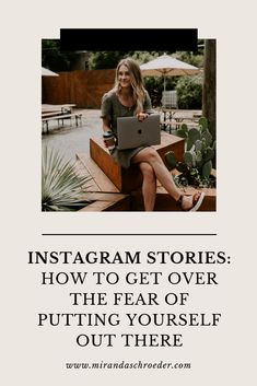 You can't sugar coat it. There isn't anything comfortable about sharing your life on social media (at least at first). It's awkward. All these fears and doubts creep into your mind, but the best way to get over doing Instagram stories is to DO Instagram stories.  | Social Media | Instagram | Blogging |