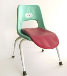 Dental office chair. seat, chairs, funni, growing up, kid rooms, children, design, wari meyer, tongu chair