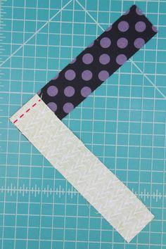French Braid Mug Mat — Crafty Staci Mug Rug Patterns, Quilt Block Patterns, Quilt Blocks, Star Quilts, Canvas Patterns, Quilting Tutorials, Quilting Projects, Sewing Projects, Braid Quilt