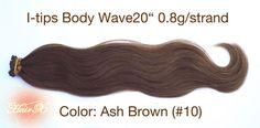 100 Remy Human hair extensions  I tip  Straight 20 inches by hairx, $122.00